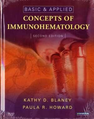 Basic & Applied Concepts of Immunohematology imagine