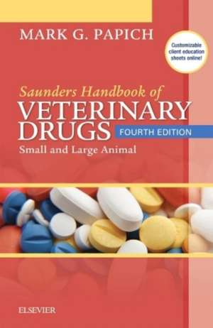 Saunders Handbook of Veterinary Drugs