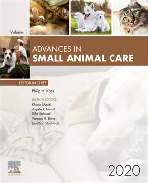 Advances in Small Animal Care 2020 imagine