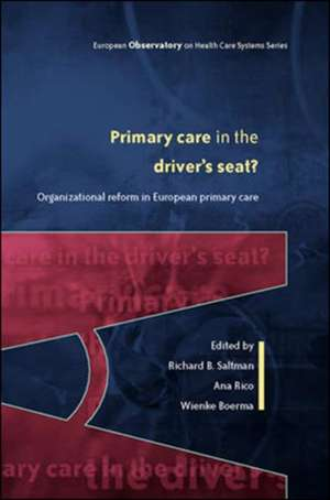 Primary Care in the Driver's Seat