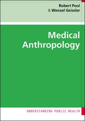 Medical Anthropology de Robert Pool