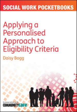 Applying A Personalised Approach To Eligibility Cr