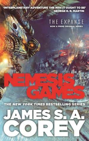 Nemesis Games de James S. A. Corey