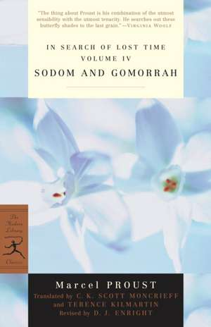 Sodom and Gomorrah de Marcel Proust