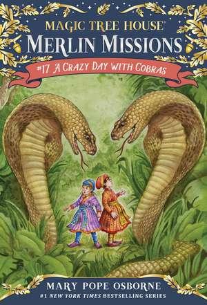 A Crazy Day with Cobras de Mary Pope Osborne