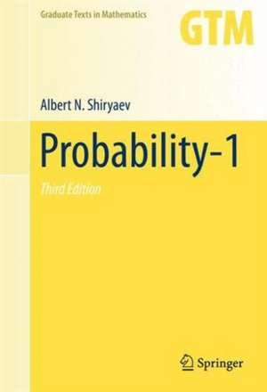 Probability-1 de Albert N. Shiryaev