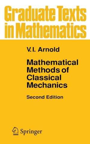 Mathematical Methods of Classical Mechanics de K. Vogtmann