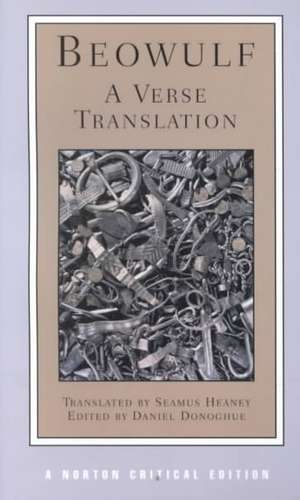 Beowulf – A Verse Translation (NCE) de Daniel Donoghue