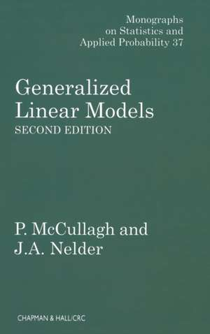 Generalized Linear Models, Second Edition