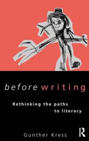Kress, G: Before Writing imagine