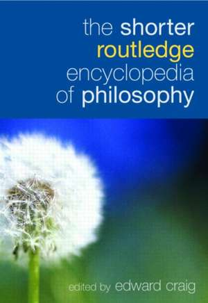 The Shorter Routledge Encyclopedia of Philosophy imagine