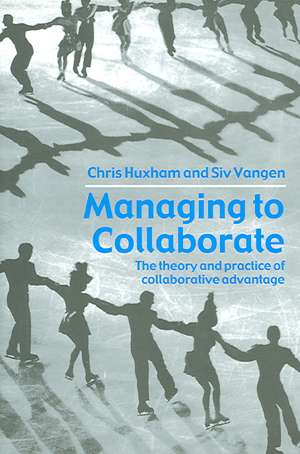Managing to Collaborate imagine