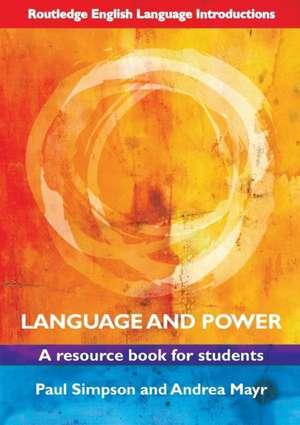 Language and Power de Paul Simpson