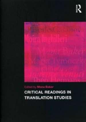 Critical Readings in Translation Studies imagine