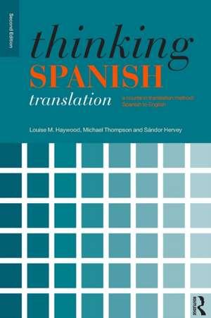 Thinking Spanish Translation imagine