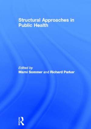 Structural Approaches in Public Health