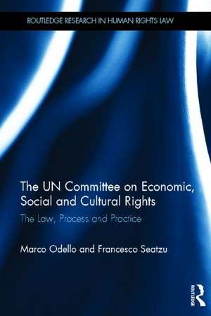 Odello, M: The UN Committee on Economic, Social and Cultural de Marco Odello