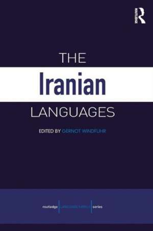 The Iranian Languages de Gernot Windfuhr