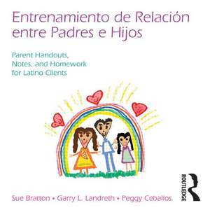 Child Parent Relationship Therapy (Cprt) Parent Notebook, Spanish Version: Parent Handouts, Notes, Homework, and Other Resources