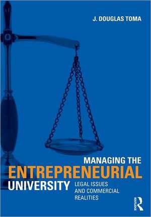 Managing the Entrepreneurial University imagine