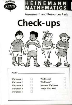 Heinemann Maths 1: Check-up Booklets (8 Pack)