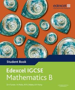 Edexcel International GCSE Mathematics B Student Book