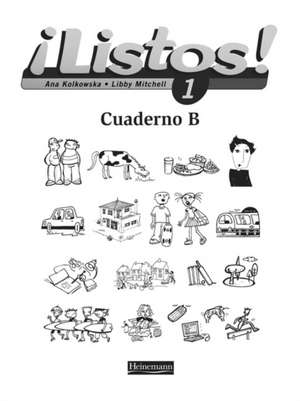 Listos! 1 Workbook B Pack of 8