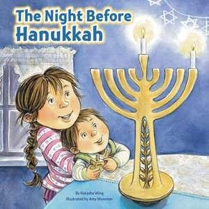 The Night Before Hanukkah de Natasha Wing