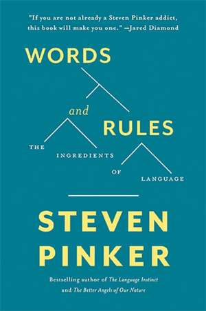Words and Rules: The Ingredients Of Language de Steven Pinker