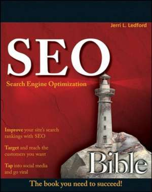 SEO: Search Engine Optimization Bible de Jerri L. Ledford