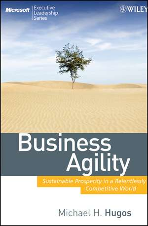 Business Agility: Sustainable Prosperity in a Relentlessly Competitive World de Michael H. Hugos