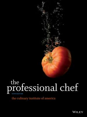 The Professional Chef de The Culinary Institute of America (CIA)