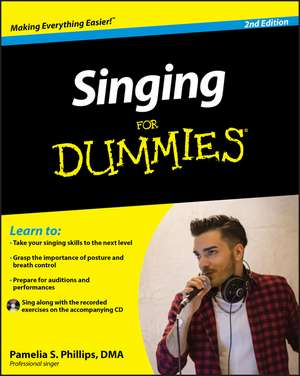Singing For Dummies [with Cd (audio)]