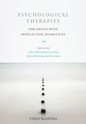 Psychological Therapies for Adults with Intellectual Disabilities imagine