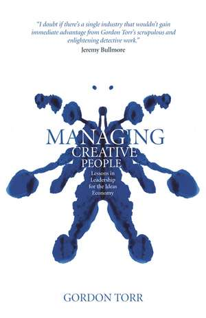 Managing Creative People imagine