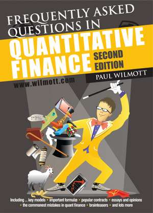 Frequently Asked Questions in Quantitative Finance imagine