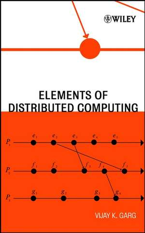 Elements of Distributed Computing de Vijay K. Garg