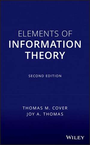 Elements of Information Theory imagine