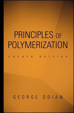 Principles of Polymerization