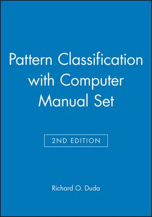 Pattern Classification 2nd Edition with Computer Manual 2nd Edition Set imagine