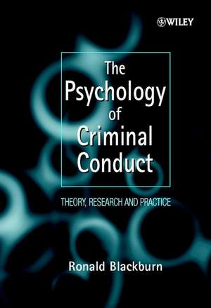 The Psychology of Criminal Conduct imagine