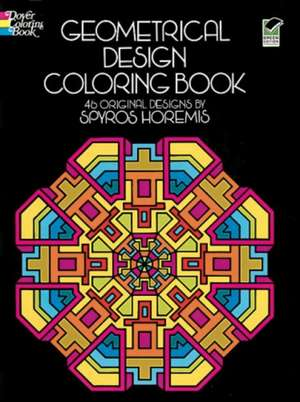 Geometrical Design Coloring Book imagine