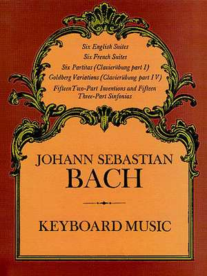 Keyboard Music de Johann Sebastian Bach