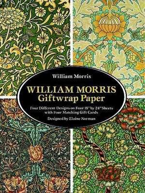 William Morris Giftwrap Paper:  Madrigali Guerrieri Et Amorosi de William Morris