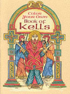 Color Your Own Book of Kells imagine