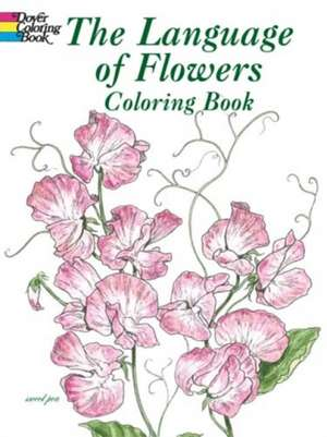 The Language of Flowers Coloring Book de John Green