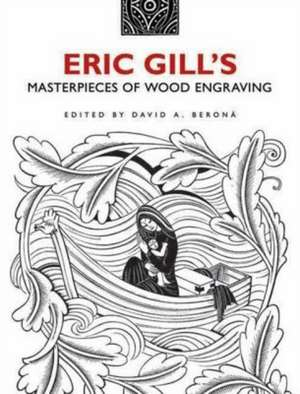 Eric Gill's Masterpieces of Wood Engraving imagine