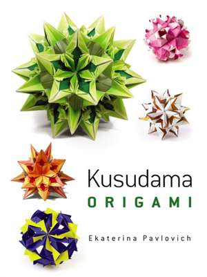 Kusudama Origami imagine