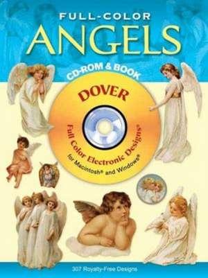 Full-Color Angels CD-ROM and Book de Dover Publications Inc