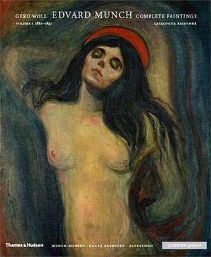 Edvard Munch Complete Paintings de Gerd Woll